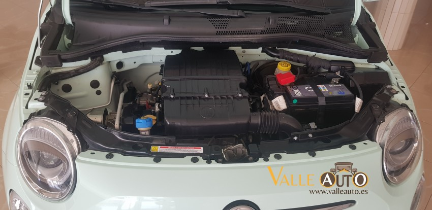 FIAT 500 LOUNGE 1.2 69CV VERDE AGUA Imagen