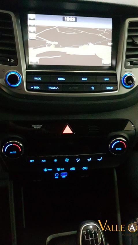 HYUNDAI TUCSON BLUE DRIVE LINK 4X2 1.7 CRDI 115CV BLANCO Imagen