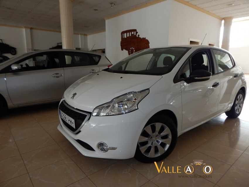 Image del PEUGEOT 208 BUSINESS LINE  1.4 HDI 70CV BLANCO