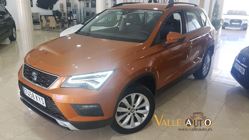 SEAT Ateca Ecomotive Style 1.6 TDI 115CV Naranja Imagen