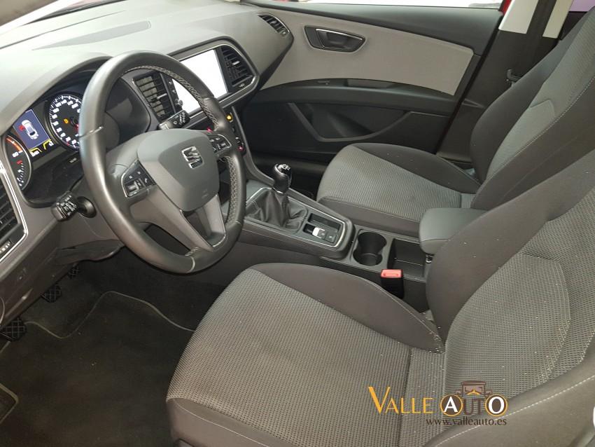 SEAT Leon ST Style 2.0 150CV Rojo Imagen