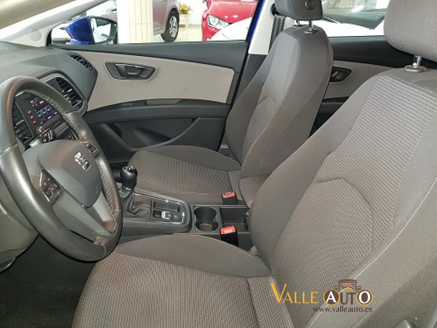 SEAT Leon Style 1.6 TDI 115CV Azul Imagen