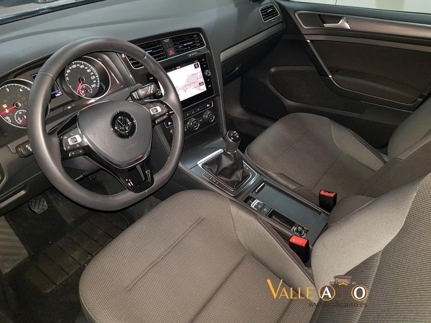 VOLKSWAGEN Golf advance variant 1.6 tdi 115CV negro Imagen