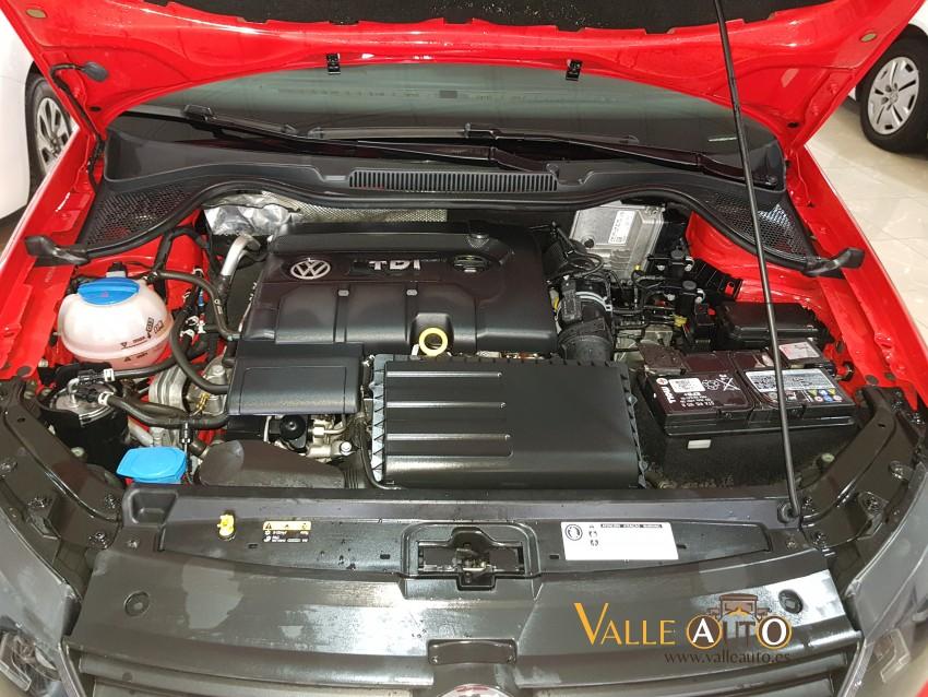 VOLKSWAGEN Polo EDITION 1.4 TDI 75CV rojo Imagen